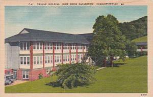 Virginia Charlottesville Trinkle Building Blue Ridge Sanatorium