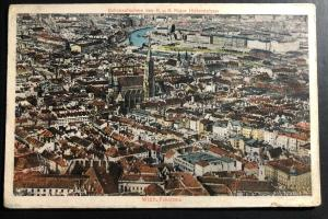 Mint Austria Color Picture Postcard PPC Vienna Panoramic View Kuk Major