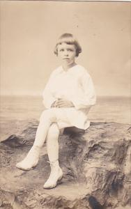RP; Portrait of young child, 1904-1918