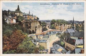 LUXEMBOURG, Faubourg de Grand et Ville Haute, 10-20s