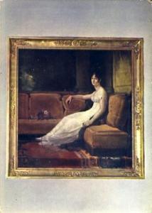 POSTAL 56776: L Imperatrice Josephine a la Malmaison (Gerard)