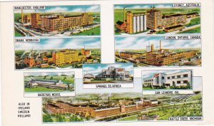 Kellog Company Plants England Australia Canada United States Mexico sk6841