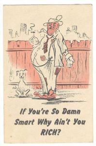 ADV: Comic, Smorgasbord Steak House , San Francisco , California , PU-1946