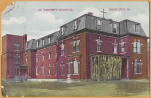 Sioux City, Iowa, St. Vincents Hospital - 1909