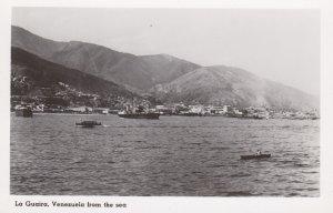 RP: LA GUAIRA , Venezuela , 1940-50s; View from the Sea