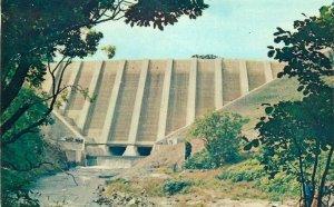 Llanidloes Clywedog Dam postcard