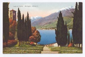 Lago di Como Bellagio Dintorni  Lake Como Italy Postcard