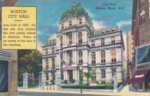 Massachusetts Boston City Hall