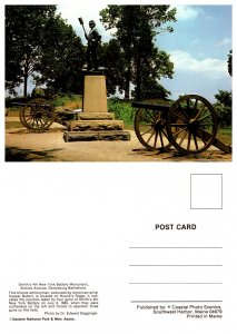 Smith's 4th New York Battery Monument, Sickies Avenue, Gettysburg Battlefield