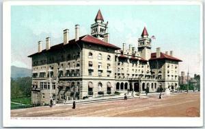 Colorado Springs CO Postcard ANTLERS HOTEL Street View Detroit Pub. 1901 Unused