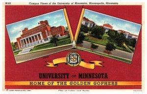 Minnesota University Minnesota ,  Campus Views