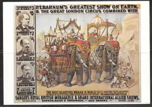 Circus Poster, San Antonio Texas Hertzberg Collection, unused