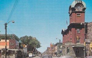 Sault Ste. Marie , Ontario , Canada , 50-60s ; Queen Street