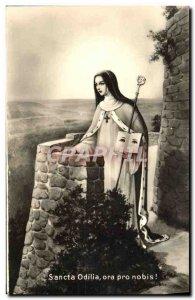 Postcard Old Ora Pro Nobis Sancta Odilia