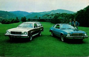 1975 Mercury Bobcat Villager Wagon and 3 Door Runabout