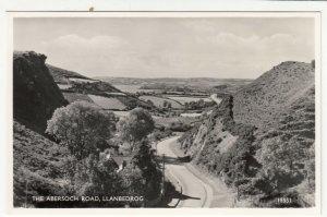Caernarvonshire; The Abersoch Road, Llanbedrog, 15531 RP PPC, c 1950's, Unused