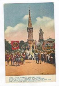 Poetry, Lady on White Horse, Village, Church, Celebration, Banbury Cross, 00-10s