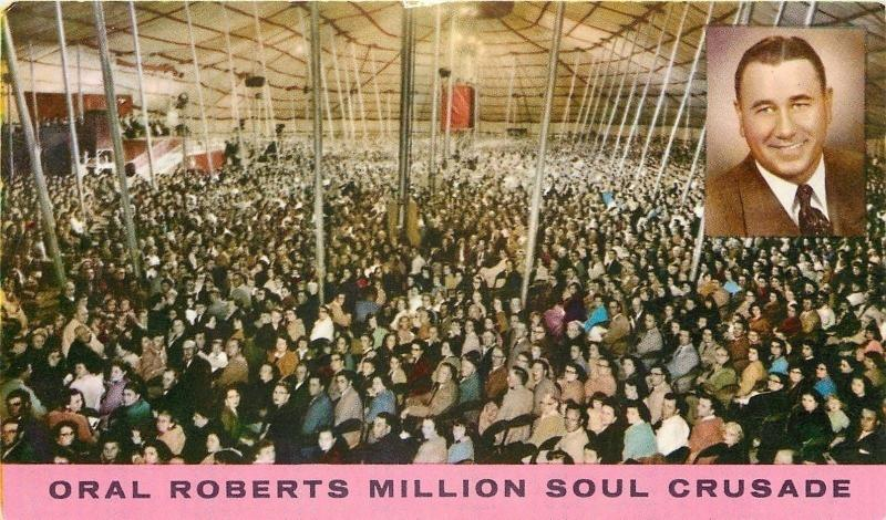Louisville Kentucky~Fair Coliseum Hosts Oral Roberts Million Sould Crusade 1950s