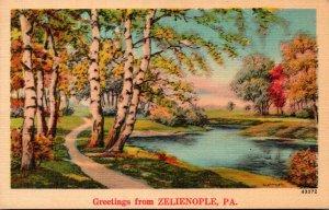 Pennsylvania Greetings From Zelienople