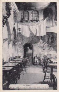 New York City The Cortile Restaurant 1943