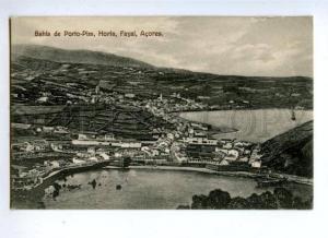 144760 PORTUGAL Azores ACORES Fayal Horta Bahia de Porto-Pim