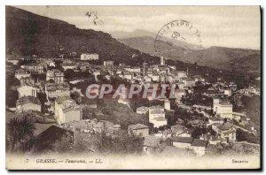 Old Postcard Panorama Grasse