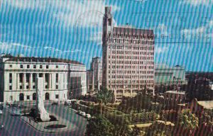 Texas San Antonio Alamo Plaza At Houston Street 1967