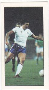 Trade Cards Geo. Bassett FOOTBALL 1979-80 No 22 Trevor Brooking (West Ham)