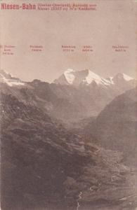 RP; Niesen-Bahn, FIve Mountain Peaks, Berne, Switzerland, 00-10s