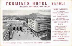 CPA NAPOLI Terminus Hotel. ITALY (526241)