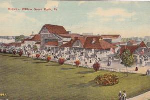 WILLOW PARK , Pennsylvania, 1900-10s ; Midway