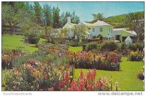 Bermuda Southampton Garden At Waterlot Inn 1968