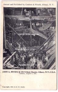 John G. Myers Store Disaster, Albany NY