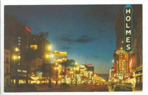 Canal Street At Night, New Orleans, Louisiana, 1940-1960s