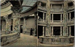 1910s Boise, Idaho Postcard State Capitol - Corinthian Columns / Rotunda View