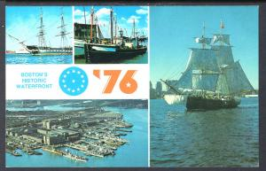 Sailing Ships,Boston's Waterfront,MA