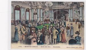 Salle De Jeu, Roulette, Monte-Carlo, Monaco, 1900-1910s