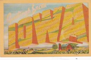 Iowa Greetings With Ears Of Corn