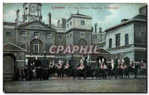 Postcard Old London The Horse Guards Whitehall