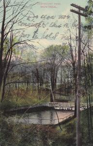 Westmount Park, MONTREAL , Quebec, Canada, 1911