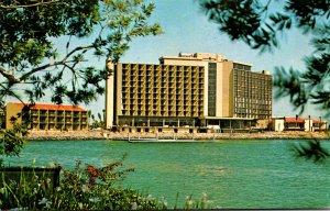 California San Diego Sheraton Harbor Island Hotel 1973