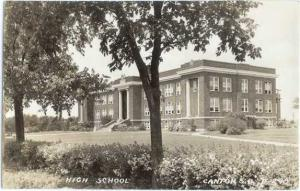 RPPC of High School in Canton South Dakota SD
