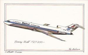 United Airlines Boeing Model 727-200