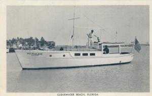 CLEARWATER BEACH , Florida, 30-40s; Charter Boat BIG PAULENE