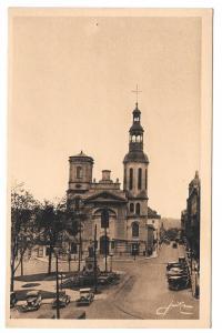 Canada Quebec Basilica Notre Dame Vtg Jackie Postcard