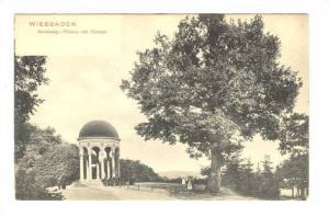 Neroberg- Plateau mit Tempel, Wiesbaden (Hesse), Germany, 1900-1910s