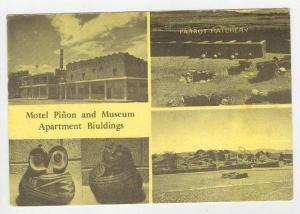Motel Pinon & Museum Apartment Bldgs, Parrot Hatchery,Nuevo Casas Grandes, Ch...