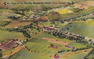 Air View Of The Purina Research Farm Gray Summit Missour