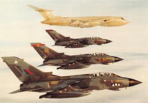 Postcard NEW RAF Marham Wing 75th Anniversary 1993 by Squadron Prints No.36