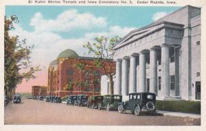 Iowa Cedar Rapids El Kahir Shrine Temple and Iowa Consistory No 2
